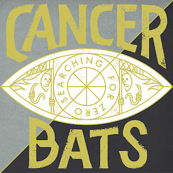 Cancer Bats - Searching For Zero album cover Broken Amp