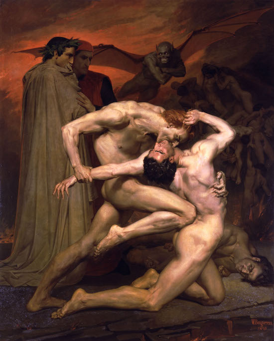 Anaal Nathrakh Dante and Virgil in Hell